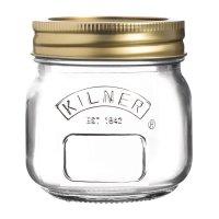 Kilner Weckglas mit Schraubverschluss 250ml