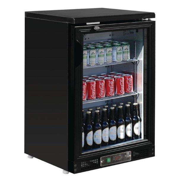 Polar Serie G 1-türiger Barkühlschrank schwarz 104 Flaschen