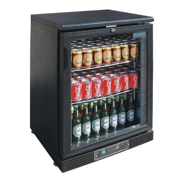 Polar Serie G Barkühlschrank mit Klapptür 104 Flaschen