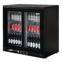 Polar Serie G Barkühlschrank schwarz 168 Flaschen