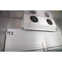 Polar Serie G Barkühlschrank hoch 2 Klapptüren, 490L