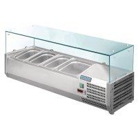 Polar Serie G Aufsatzkühlvitrine für 3x GN1/3 +...