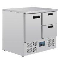 Polar Serie G Kühltisch 1-türig mit 2...