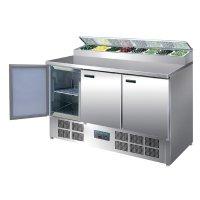 Polar Serie G gekühlte Saladette und Pizzatisch 390...