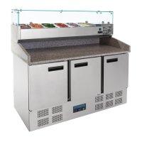 Polar Serie G Thekenkühltisch für Pizzen und...