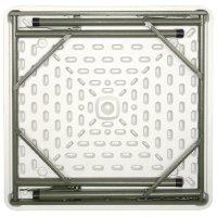 Bolero quadratischer Klapptisch weiß 86 x 86cn