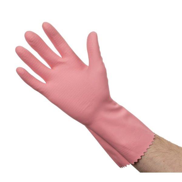 Jantex Haushaltshandschuhe rosa L