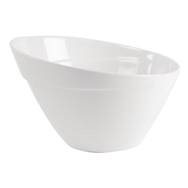 APS Melamin Schale Balance weiß 24,5cm, 2,5L