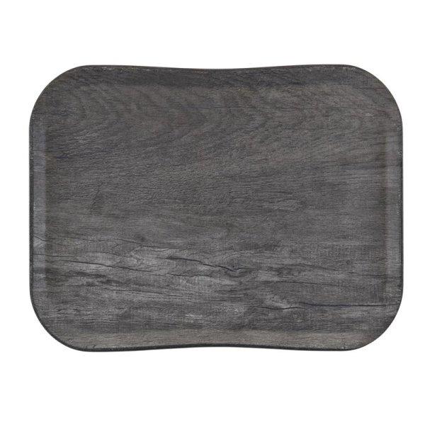 Cambro Century Tablett graues Eichenholz Design 33 x 43 cm