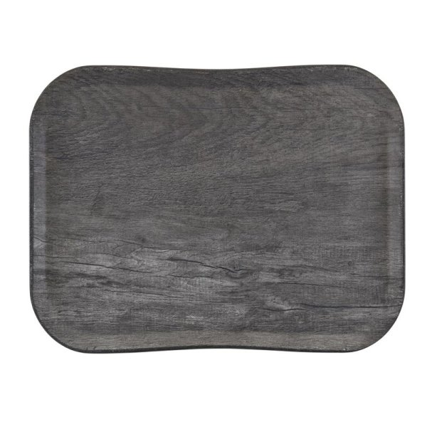 Cambro Century Tablett graues Eichenholz Design 36 x 46 cm