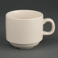 Olympia Ivory stapelbare Teetassen 21,3cl