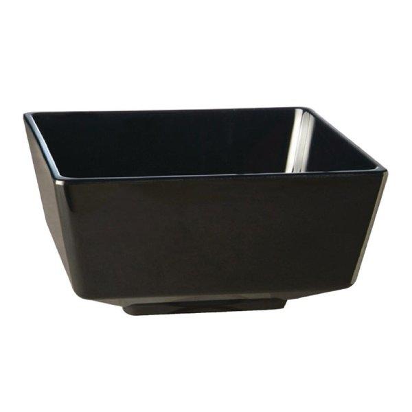 APS Float quadratisch Schale schwarz 25cm, 4L