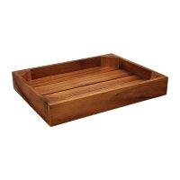 T&G Woodware Holzkiste zum Servieren