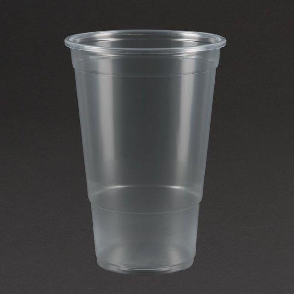 Plastico Einweggläser 570ml (bis zum Rand)