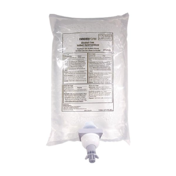 Rubbermaid AutoFoam geruchsneutrales Händedesinfektionsmittel alkoholfrei 1,1L (4 Stück)