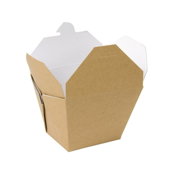 Colpac recycelbare Pasta Foodbox quadratisch 750ml (250 Stück)