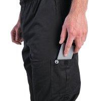 Chef Works Unisex Cargohose Slim Fit schwarz M
