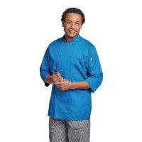 Chef Works Unisex Kochjacke blau M