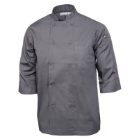 Chef Works Unisex Kochjacke grau M