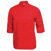 Chef Works Unisex Kochjacke rot S
