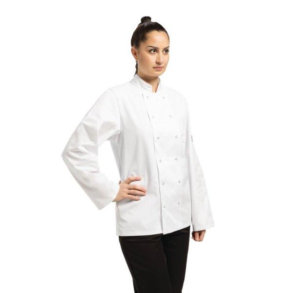 Whites Vegas Kochjacke lange Ärmel weiß XL