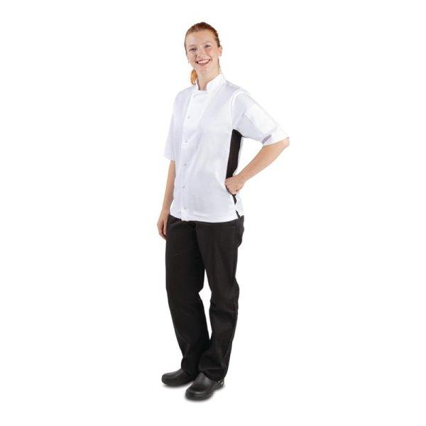 Whites Nevada Kochjacke kurze Ärmel weiß XL