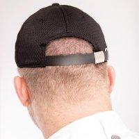 Chef Works Cool Vent Baseballcap schwarz-blau