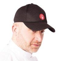 Chef Works Cool Vent Baseballcap schwarz