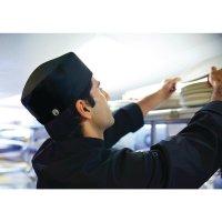 Chef Works Cool Vent Beanie schwarz
