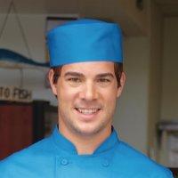 Chef Works Cool Vent Beanie blau