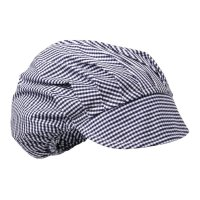 Whites Damen Schirmmütze blau-weiß kleinkariert