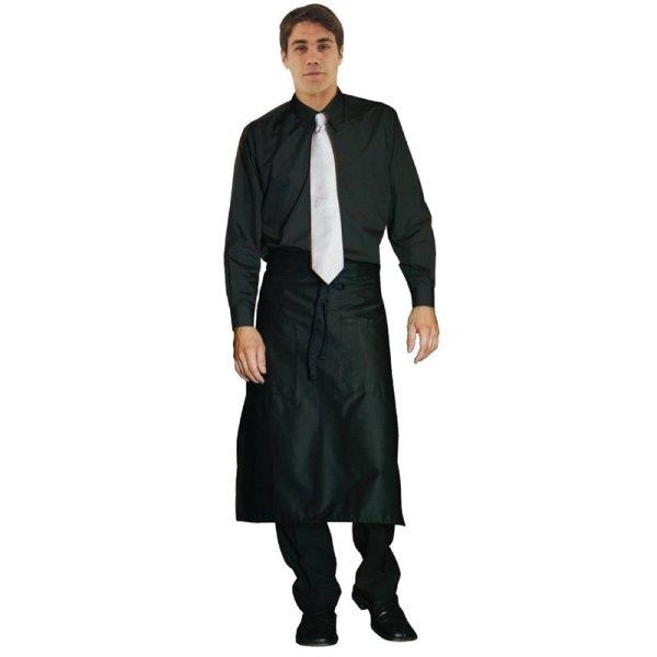 Uniform Works Unisex Oberhemd schwarz M