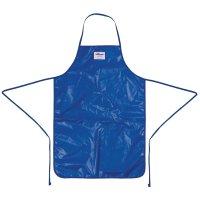 Burnguard Quicklean Nylon-Halterschürze blau