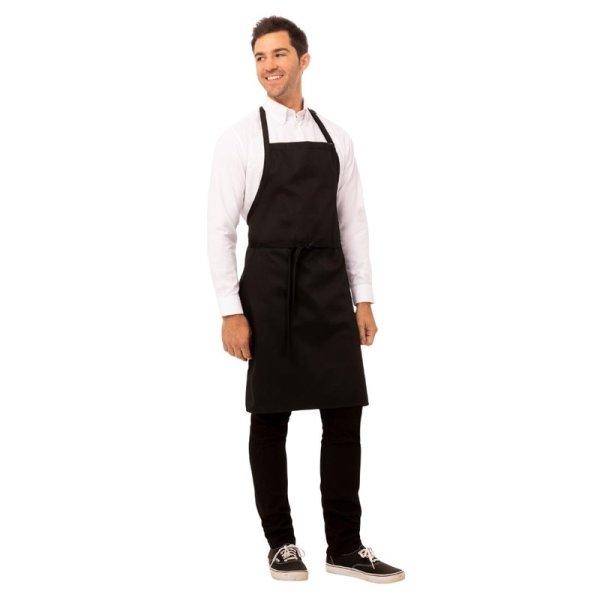 Chef Works Latzschürze schwarz