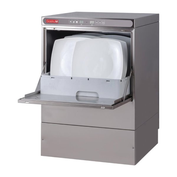 Gastro M Geschirrspüler Maestro 230V mit Ablaufpumpe, Seifenspender und Zwischenbehälter