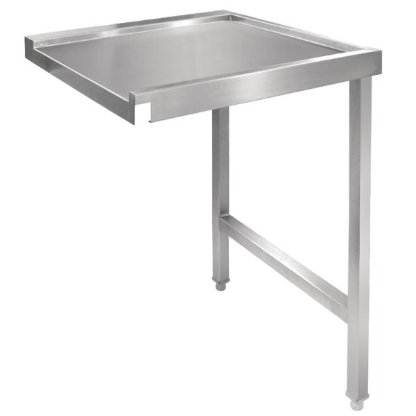Vogue Tisch für Haubenspülmaschine rechts 60cm