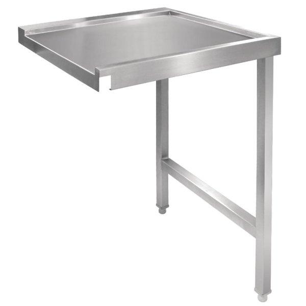 Vogue Tisch für Haubenspülmaschine rechts 110cm