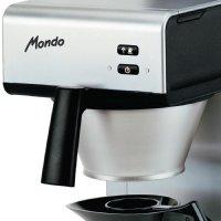 Bravilor Bonamat Kaffeemaschine Mondo 1,7L manuell, 2 x 1,7L Glaskannen (24 Becher)