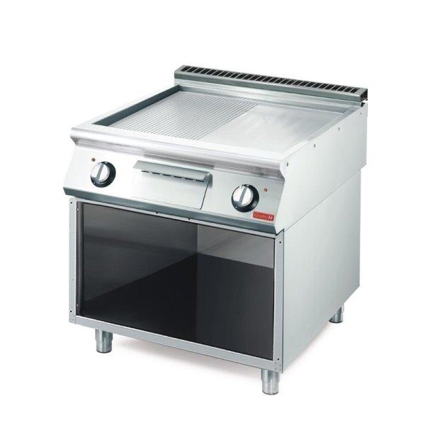 Gastro M elektrische Grillplatte GM70/80FTRES-CR