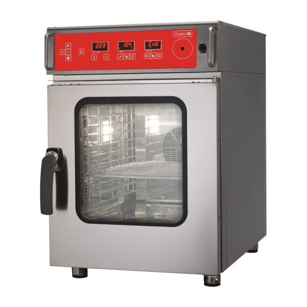 Gastro M Kombi-Dampfgarer mit Reinigungssystem 6 x 1/1 GN