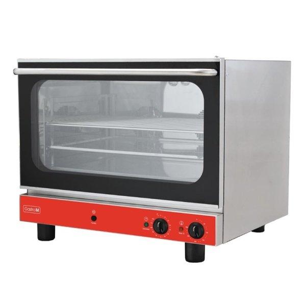 Gastro M Elektrischer Konvektionsofen Bäckerei mit Luftbefeuchter 4 Roste 230V
