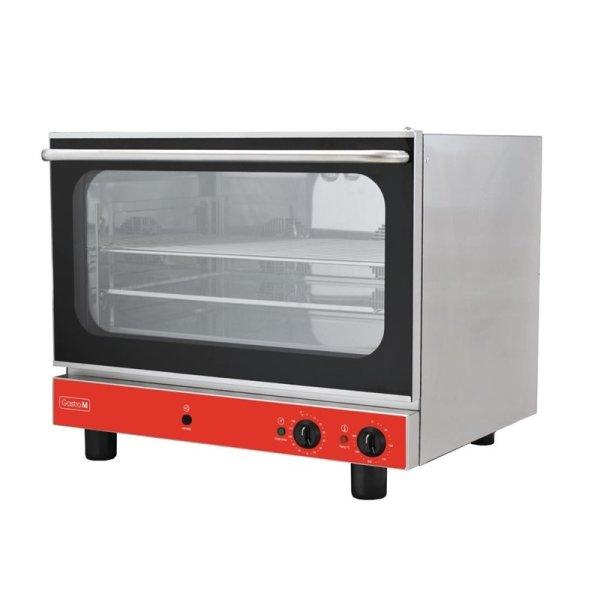 Gastro M Elektrischer Konvektionsofen Bäckerei mit Luftbefeuchter 4 Roste 400V