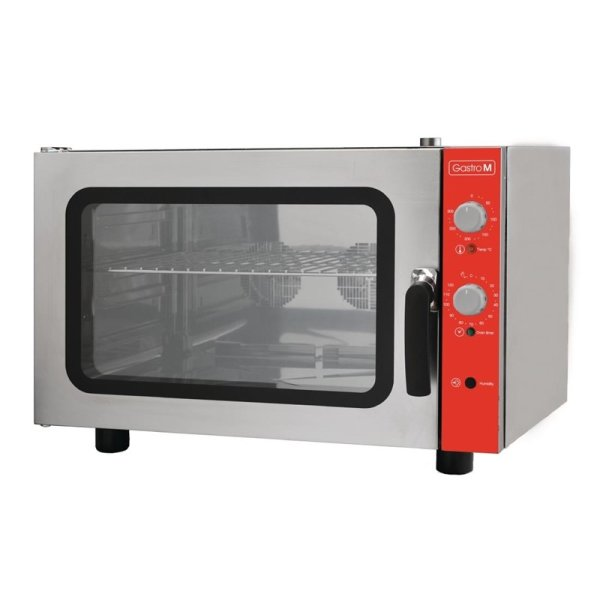Gastro M Elektrischer Konvektionsofen Bäckerei 4 Roste 400V
