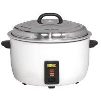 Buffalo Reiskocher 23l, 23L gekochter Reis / 10L roher Reis
