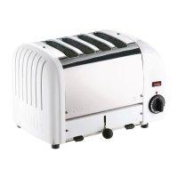 Dualit Toaster 40355 weiß 4 Schlitze