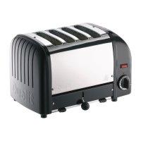Dualit Toaster 40344 schwarz 4 Schlitze