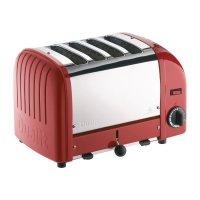 Dualit Toaster 40353 rot 4 Schlitze