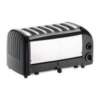 Dualit Toaster 60145 schwarz 6 Schlitze