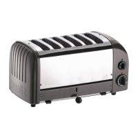 Dualit Toaster 60156 grau 6 Schlitze