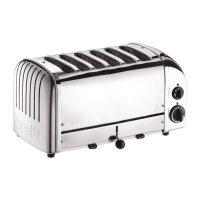 Dualit Toaster 60144 Chrom 6 Schlitze